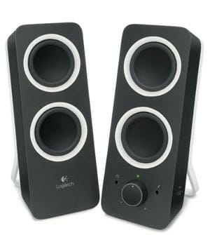 Z200 Stereo Sound Speakers by Logitech