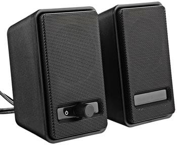 Amazon Basic USB Powered Computer Speakers