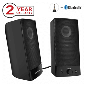 Avantree Desktop 2-in-1 Wireless and Wired Computer Speakers