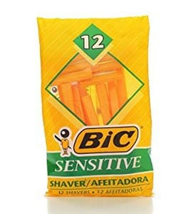 Bic Sensitive Single Blade Disposable Razor