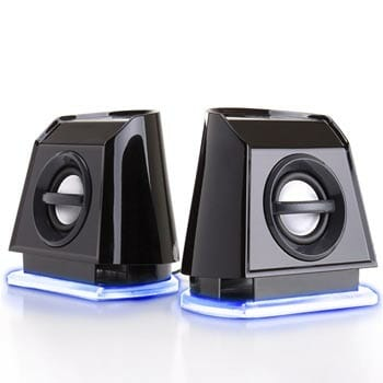 GoGroove 2MX LED Computer Speakers