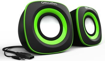 OfficeTec USB Compact Speakers