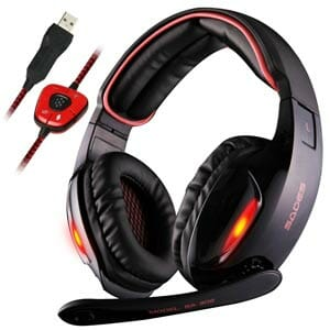 Sades SA902 7.1 Surround Sound Gaming Headset