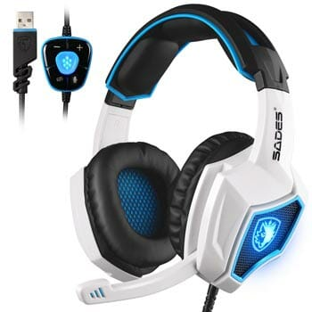 Updated Sades Spirit Wolf Gaming Headset