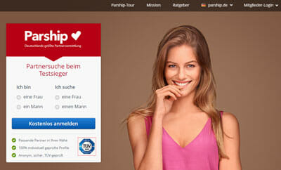 dating website germany