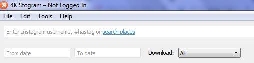 4k Stogram-Advanced-Search Bar