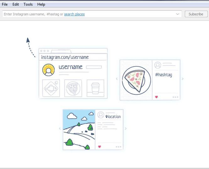 4k Stogram User Interface