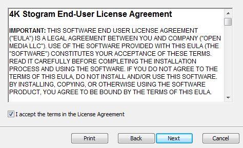 4k Stogram License Agreement