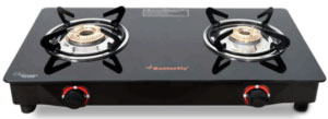 Butterfly Smart Glass 2 Burner Gas Stove