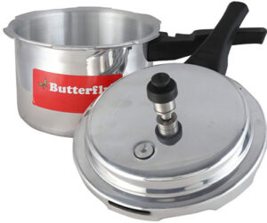 Butterfly Cordial 3 liter Aluminium Presser Cooker