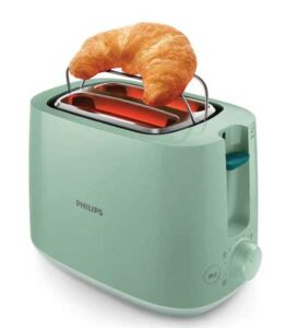 Philips Daily Collection HD2584/60 830-Watt 2-Slice Pop up Toaster
