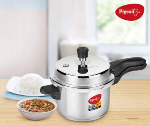 Pigeon by Stovekraft Stainless Steel Pressure Cooker