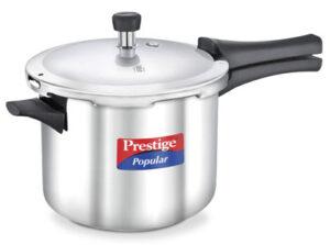 Prestige Popular Induction Base Stainless Steel Pressure Cooker