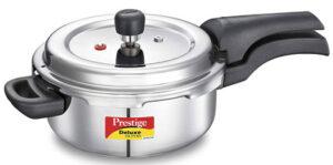 Prestige Svachh Deluxe Alpha 3 Liter Stainless Steel Pressure cooker